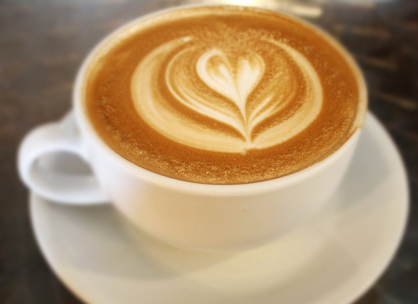 latte cup image